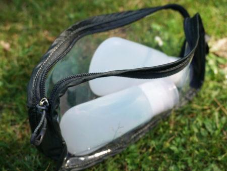 Ozeankind Osprey Handgepäck Kulturbeutel mit Silkonflaschen - 6