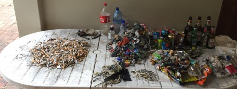Plastikmüll in Südafrika