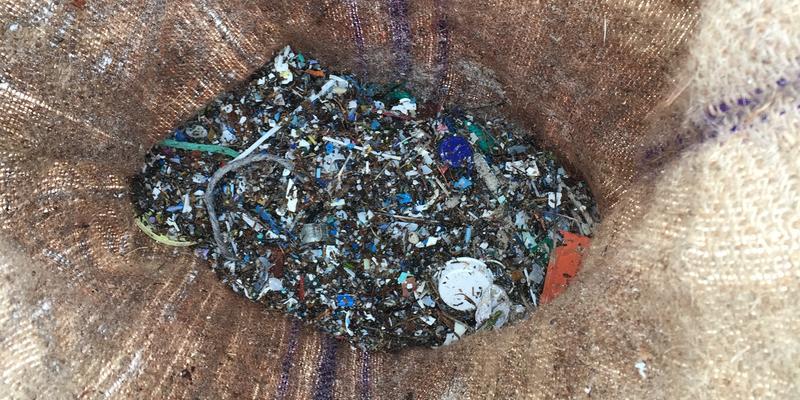 Mikroplastik Pearly Beach