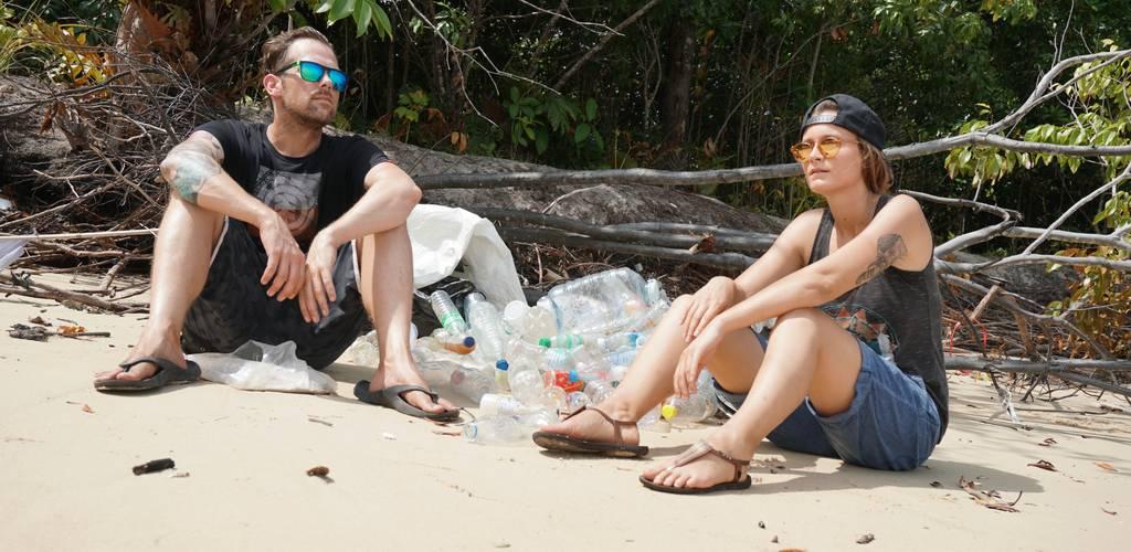 Plastikmüll auf Koh Phayam