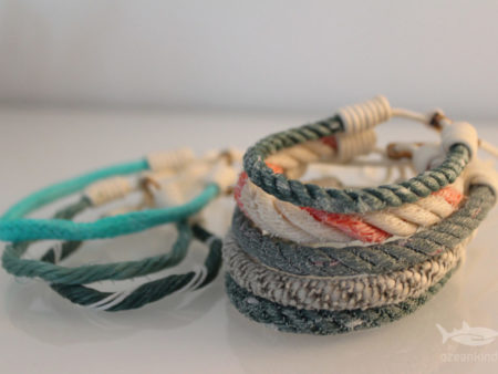 recycling-armband aus dem Meer