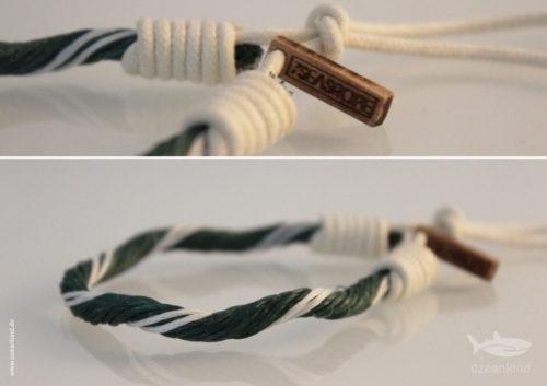 armband aus Seilenresten