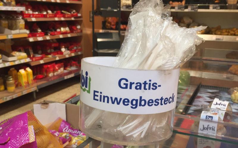 plastikverbot deutschland einwegbesteck