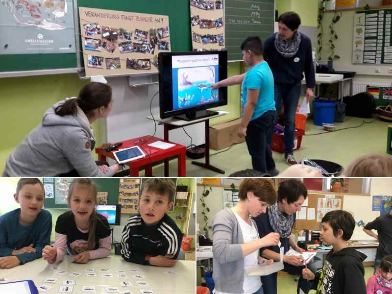 Schulprojekt mit Ozeankind e.V.